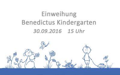 Einweihung des Kindergartens am 30.09.2016 um 15 Uhr